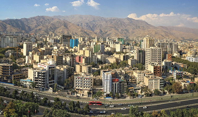 View of the city of Tehran. / PHOTO_HOOCHIE740_FLICKR