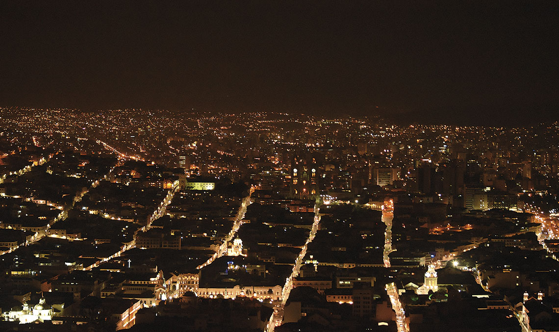 QUITO, HOST CITY OF HABITAT III. Habitat III was held in the capital of Ecuador with over 35,000 participants and more than 120 mayors of cities all over the world, including Madrid, Barcelona and Quito itself.